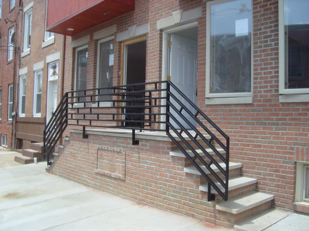 front porch wrought iron railings made by capozzoli