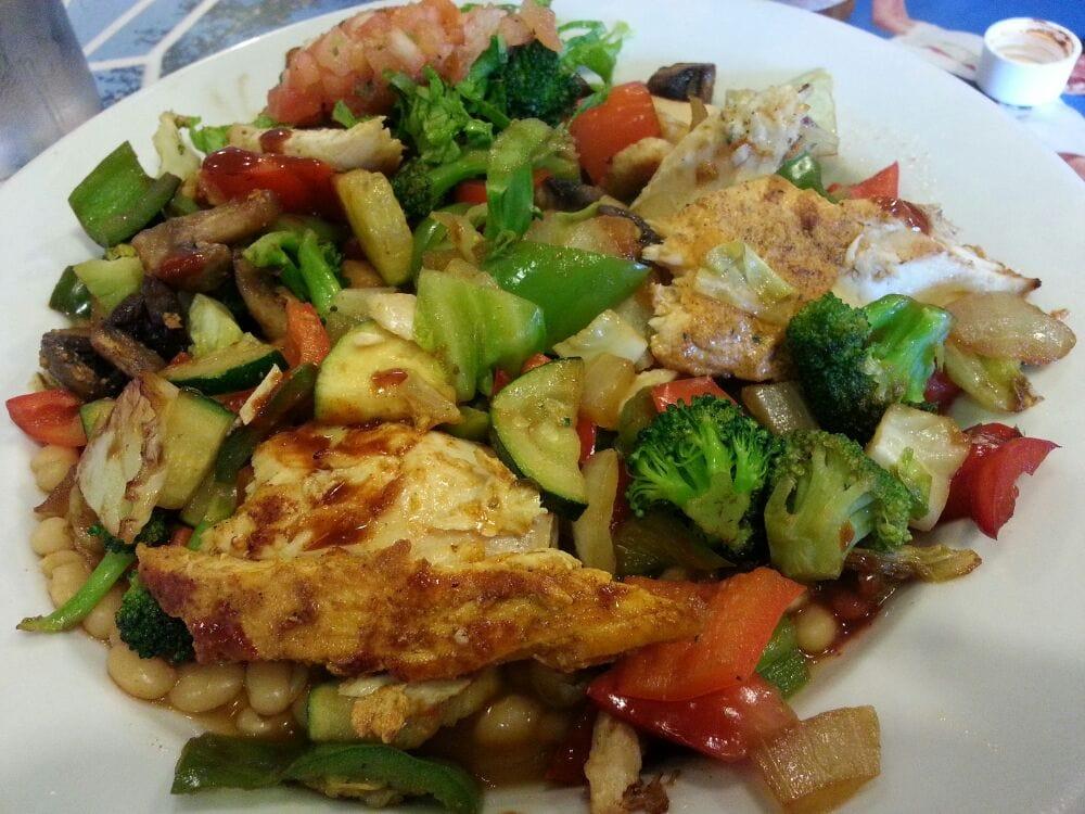 Banzai bowl with ono fish extra banzai veggies instead for Wahoo fish taco