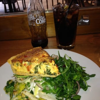 Good lunch deal: Tart of the day + Salads