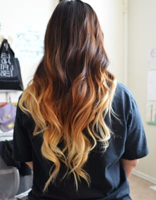 Ombre hair from Allure! Done by Tracey