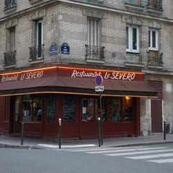 Le Sévero - one of the best steakhouses in Paris.