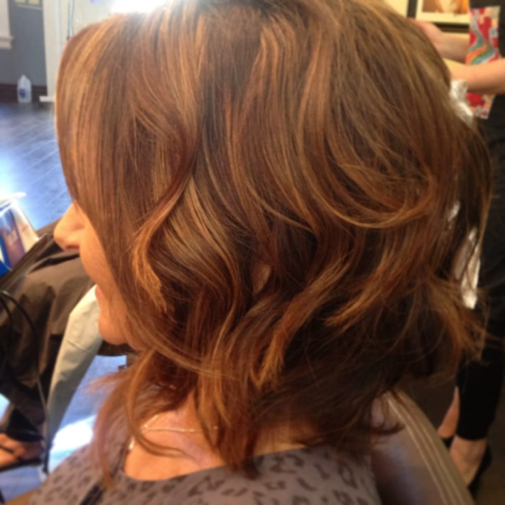 Chocolate Brown Hair Color With Light Brown Highlights And