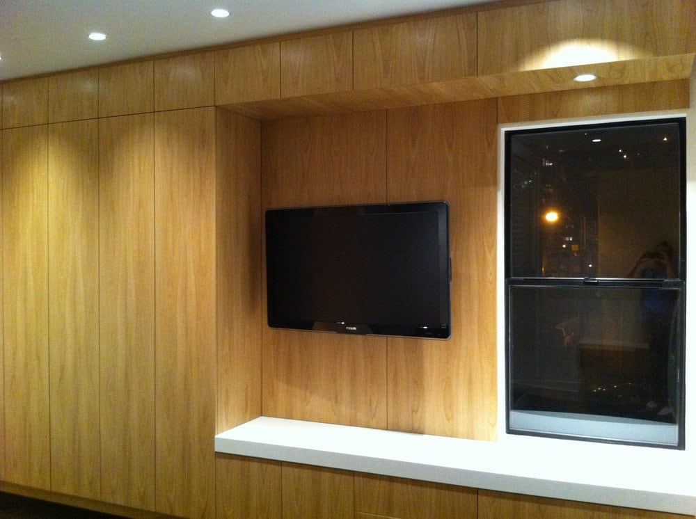 Master Entertainment Cabinets With Wall Mount Flat Screen