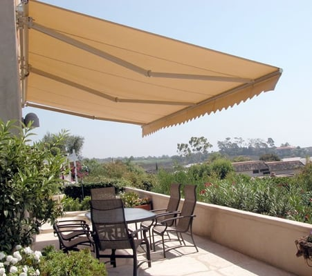 retractable awnings patio covers drop shades and patio