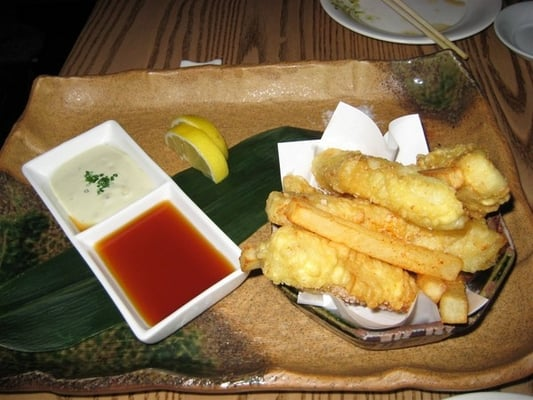 Fish n 39 chips nobu style only ok yelp for Fish n style
