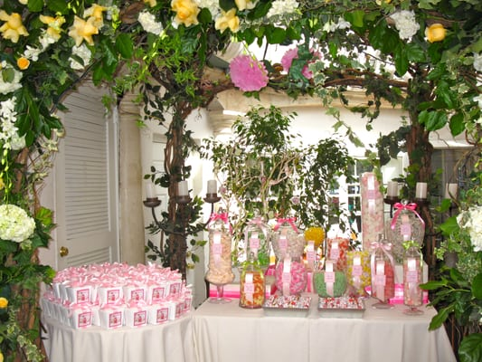 ... Candy Buffet for Ava's 1st Birthday Party - Il Cielo, Beverly Hills