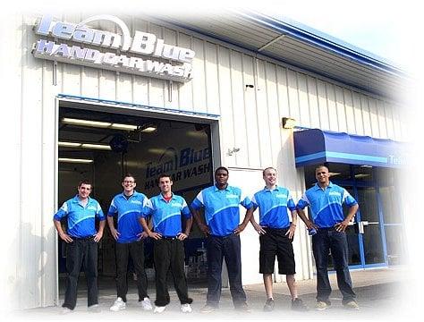 Team Blue Car Wash Rating