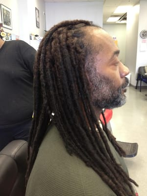Taper Fade with Dreads