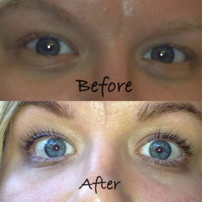 Eyelash Tinting And Extensions Eyelash Extensions Before And