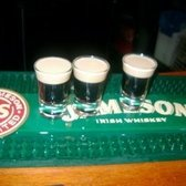 BABY GUINNESS - tasted like ice cream dipped in caramel