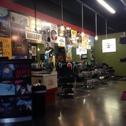 Barber Shop San Antonio : Left side of barber shop by Polo C.