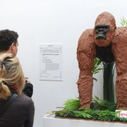 Love to Cake life-size Gorilla cake for The Experimental Food Society