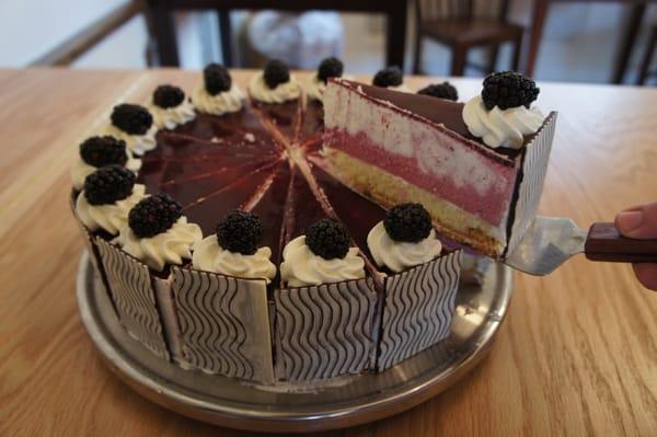 Blackberry Mousse Cake | Yelp