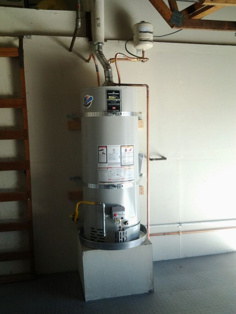 50 Gal Gas Water Heater A 50 gallon Bradford White (made in USA), ultra low ...