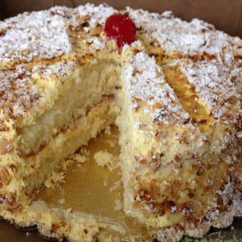 Peters Bakery Burnt Almond Cake Recipe
