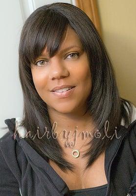 African American Hair: Full Sew in weave Hair extensions-San Diego