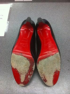 Guardar su Suela Rojo Suela de Zapato de Reparación (Full) EPxbKnFL