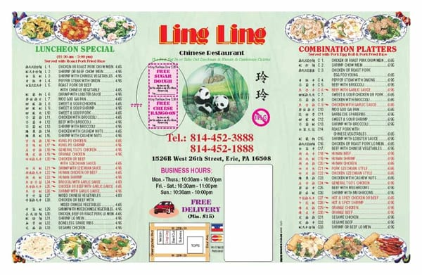Ling Ling Erie Pa United States Yelp
