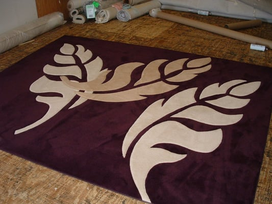 Contemporary Leaf Pattern Rug Yelp