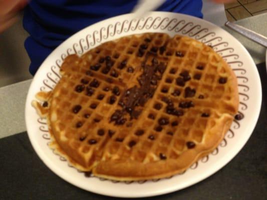 Chocolate chip waffles   Yelp