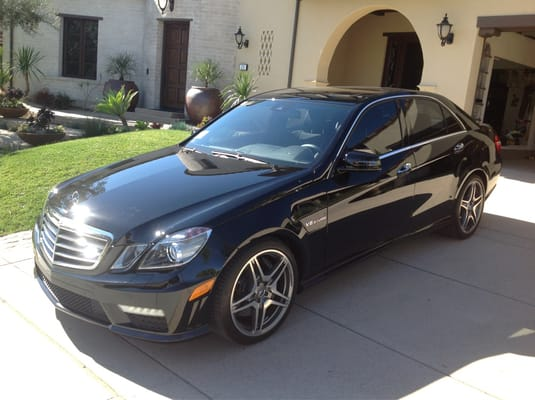 Mercedes benz e63 window tint san clemente yelp for Mercedes benz window tint