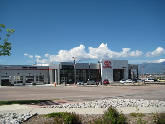 Larry H Miller Liberty Toyota In Colorado Springs New And