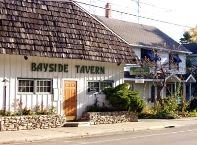 Bay side tavern 31 reviews yelp for Fish creek wi restaurants