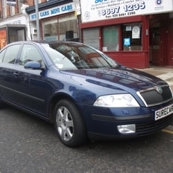 An example of our saloon cars