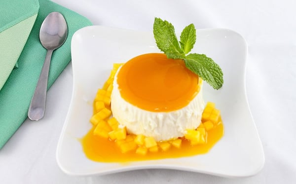 Mango panna cotta | Yelp