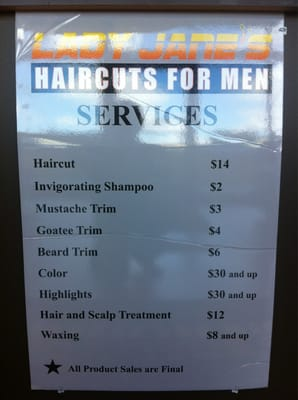 Lady Jane?s Haircuts For Men - Barbers - Raleigh, NC - Reviews ...