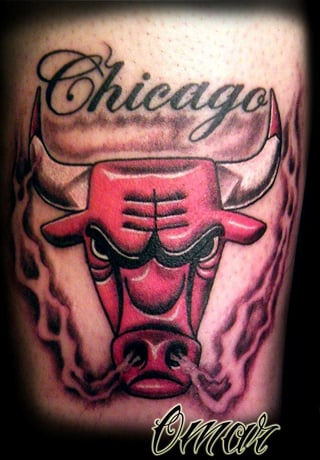 Chicago bulls by omar yelp for Chicago ink tattoo