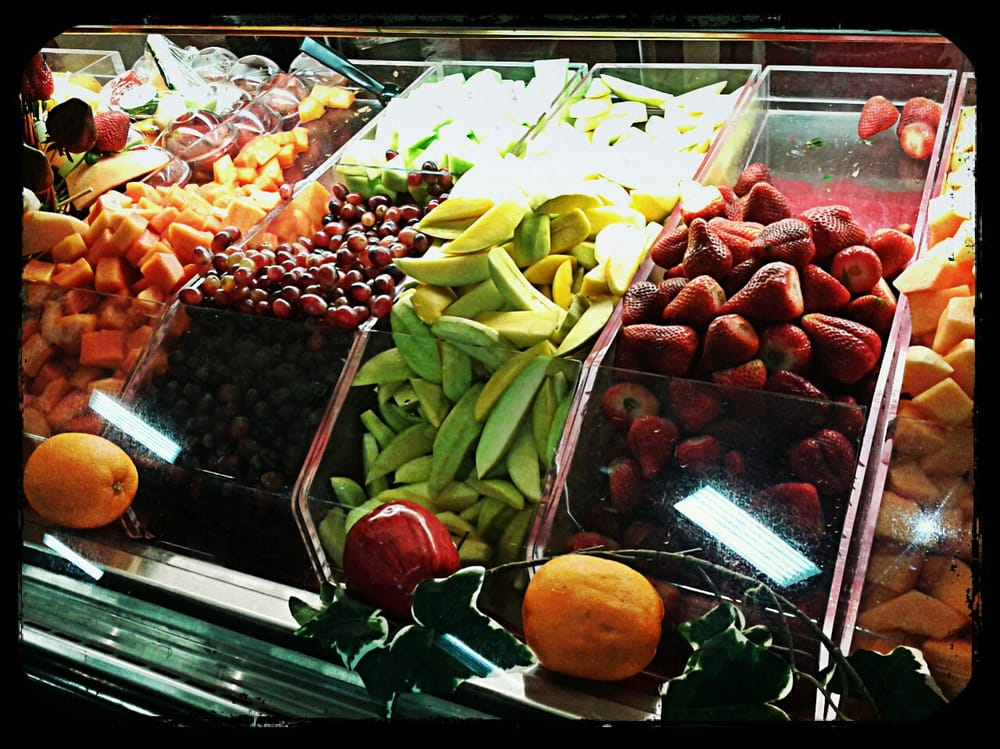 Fresh Fruit At The Juice Bar Yelp