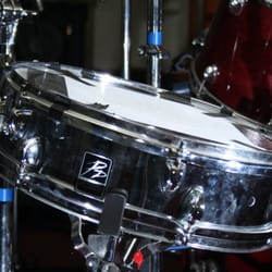 Custom 'pp' snare with premiere hardware