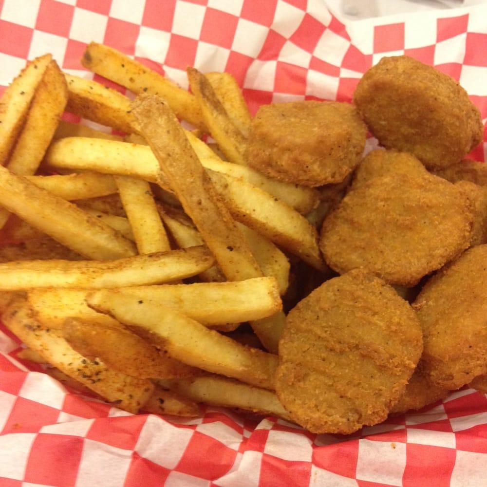 Chicken Nuggets W/ Fries.
