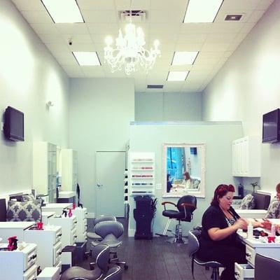 Pink nail spa nail salons hollywood fl yelp for 24 hour nail salon atlanta