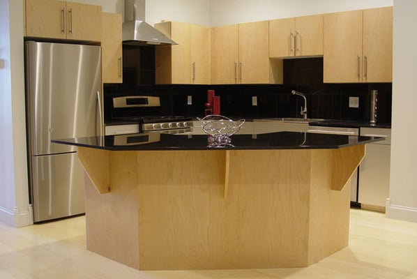 Granite countertops, stainless steel appliances, gas stove, dishwasher ...