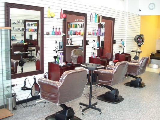 Upscale Salon : Combination of Modern Upscale Hair Salon & Barbershop Yelp