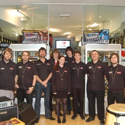 Dawsons Music Shop Leeds Staff