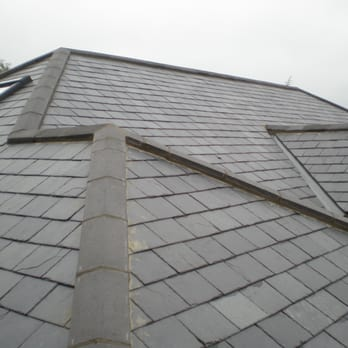 new slate roof in spanish 250mmx500mm slates