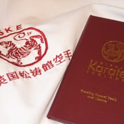 SKE Karate Badge and Licence