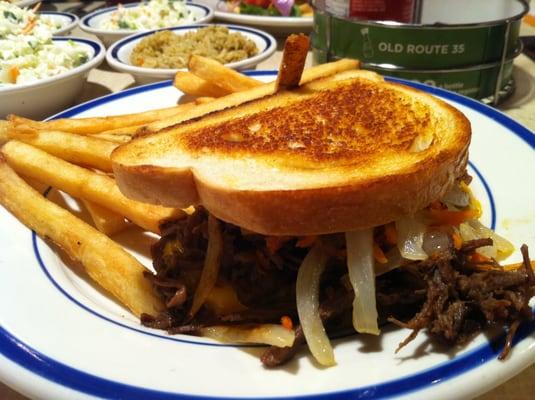 Bob Evans Pot Roast Sandwich | Yelp