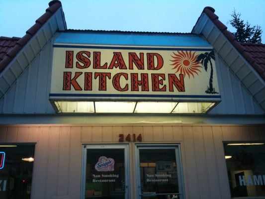 island kitchen fast food restaurant american