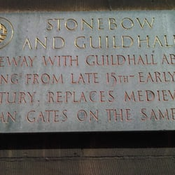 Stonebow & the Guildhall, Lincoln