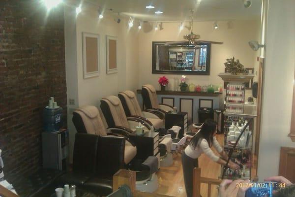Secret s spa nail salon north end boston ma for Acton nail salon