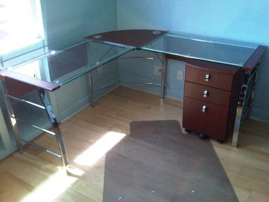 Office Depot Mezza Desk With Matching File Cabinet