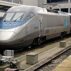 Amtrak Public Transportation Mission Hill Boston Ma