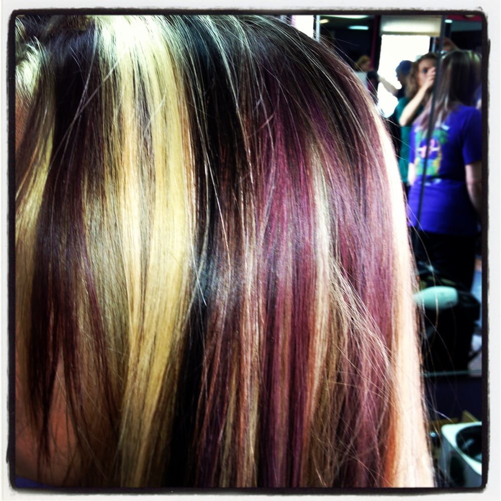 Chunks of red violet, blonde, and chocolate | Yelp