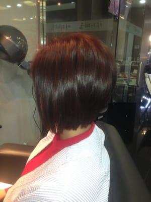 "Best hair Salon Irvine 92604 Aline bob haircut"" | Yelp"