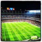 Great views at Camp Nou. Best wishes from BcnStop Apartments.