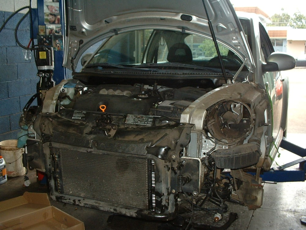 vw beetle radiator replacementlots  disassembly yelp